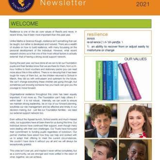 Foundation Newsletter Spring 2021