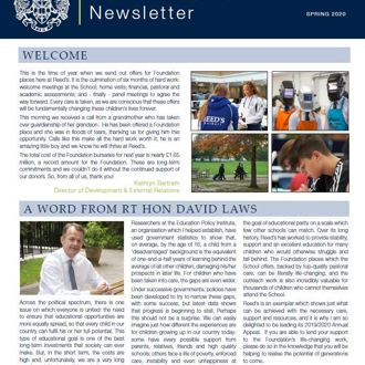 Foundation Newsletter Spring 2020