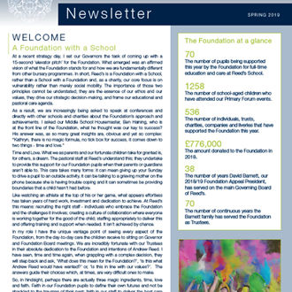 Foundation Newsletter Spring 2019