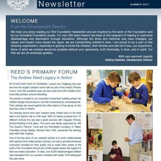 Foundation Newsletter Summer 2017